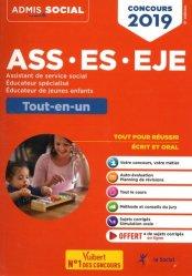 Dernières parutions sur DEEJE - CAFME - DEES - DEME, Concours ASS, ES, EJE 2019 - Tout-en-un