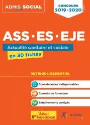 Dernières parutions sur DEASS, Concours ASS, ES, EJE 2019/2020
