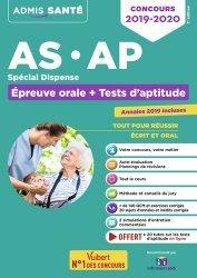 Dernières parutions sur Epreuve orale, Concours AS-AP spécial dispense