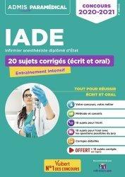 Dernières parutions dans Admis paramédical, Concours IADE 2020-2021