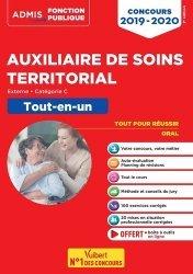 Dernières parutions sur Fonction publique hospitalière, Concours auxiliaire de soins territorial