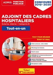 Dernières parutions sur Fonction publique hospitalière, Concours adjoint des cadres hospitaliers 2019-2020
