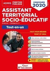Dernières parutions dans Admis Concours de la fonction publique, Concours Assistant territorial socio-éducatif, Catégorie A. Tout-en-un, Edition 2020