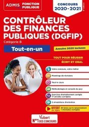 Dernières parutions dans Admis Concours de la fonction publique, Contrôleur des Finances publiques DGFIP catégorie B. Edition 2020-2021