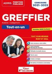 Dernières parutions sur Concours administratifs, Concours Greffier Catégorie B