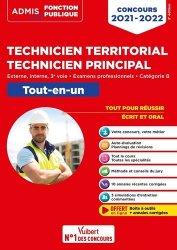 Dernières parutions sur Concours administratifs, Concours Technicien territorial - Technicien principal - Catégorie B - Tout-en-un