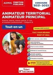 Dernières parutions sur Concours administratifs, Concours Animateur territorial Animateur principal externe, interne, interne spécial, 3e voie et examens professionnels, catégorie B