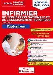 Dernières parutions sur Vie de l'infirmière, Concours Infirmier de l'Éducation nationale et de l'Enseignement supérieur - Tout-en-un