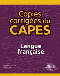 Dernières parutions sur Généralités, Copies corrigées du CAPES - Langue française
