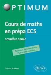 Dernières parutions dans Optimum, Cours de mathématiques en prépa ECS 1re année