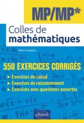 Dernières parutions sur Géométrie, Colles de mathématiques MP/MP*