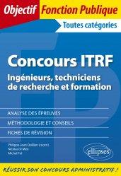 Dernières parutions sur Concours administratifs, Concours ITRF