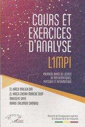 Dernières parutions sur Maths à l'université, Cours et exercices d'analyse L1MPI