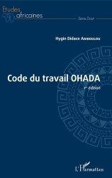 Dernières parutions dans Etudes africaines. Droit, Code du travail OHADA