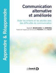 Dernières parutions dans Apprendre et réapprendre, Communication alternative et augmentée