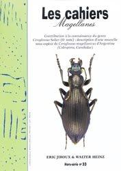 Dernières parutions dans Cahiers Magellanes, Contribution à la connaissance du genre Ceroglossus Solier (6e note) : description d'une nouvelle sous-espèce de Ceroglossus magellanicus d'Argentine