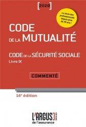 Dernières parutions sur Sécurité sociale, Code de la mutualité. Edition 2020
