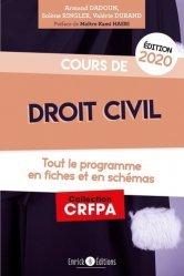 Dernières parutions sur Préparation au CRFPA, Cours de droit civil. Tout le programme en fiches et en schémas, Edition 2020