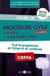 Dernières parutions sur Procédure civile, Cours de procédure civile et modes alternatifs de règlement des différends