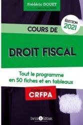 Dernières parutions sur Préparation au CRFPA, Cours de droit fiscal
