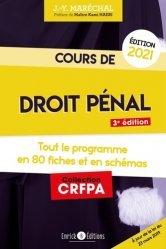 Dernières parutions sur Préparation au CRFPA, Cours de droit pénal