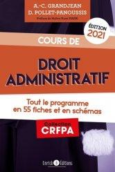 Dernières parutions sur Droit administratif général, Cours de droit administratif 2021