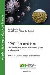 Dernières parutions sur Agronomie, COVID-19 et agriculture