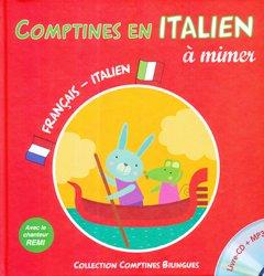 Dernières parutions sur Jeunesse, Comptines en italien à mimer