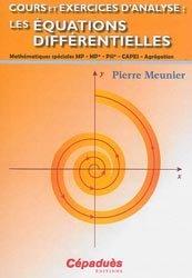 Dernières parutions sur Calcul différentiel, Cours et Exercices d'Analyse : Les Équations Différentielles