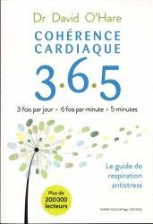 Dernières parutions sur Sommeil, fatigue, migraine, Cohérence cardiaque 365