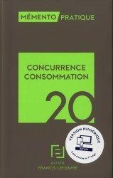 Dernières parutions dans Mémento pratique, Concurrence-consommation. Edition 2020