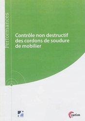 Dernières parutions sur Productique - Usinage, Contrôle non destructif des cordons de soudure de mobilier