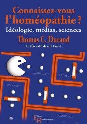Dernières parutions sur Homéopathie, Connaissez-vous l'homéopathie??