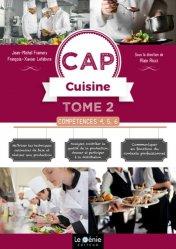 Dernières parutions sur Etudes hôtellerie restauration, Compétences 4, 5, 6 CAP Cuisine