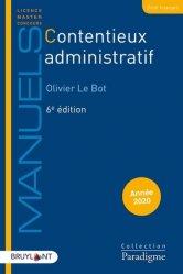 Dernières parutions dans Paradigme - Manuels, Contentieux administratif. Edition 2020