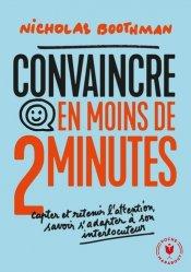 Dernières parutions dans Poche Marabout vie pro, Convaincre en moins de 2 minutes