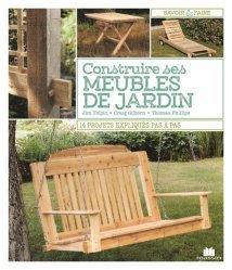 Dernières parutions sur Au jardin, Construire ses meubles de jardin