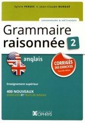 Souvent acheté avec Machines Like Me, le Corrigés des Exercices de la Grammaire Raisonnée Anglais - Tome 2
