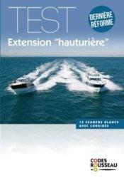 Dernières parutions sur Permis bateau, Code rousseau Test extension hauturière 2019