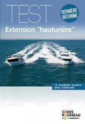 Dernières parutions sur Navigation, Code rousseau Test extension hauturière 2020