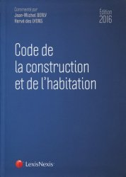 Souvent acheté avec L'Assurance construction, le Code de la construction et de l'habitation 2016