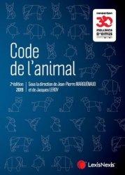 Dernières parutions sur Droit rural, Code de l'animal