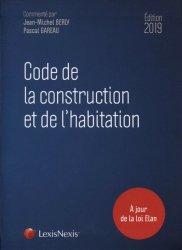 Dernières parutions sur Règlementation, Code de la construction et de l'habitation 2019