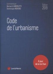Nouvelle édition Code de l'urbanisme