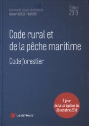 Dernières parutions sur Chasse - Pêche, Code rural et de la pêche maritime 2019
