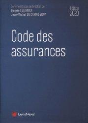 Dernières parutions sur Assurances, Code des assurances. Edition 2020