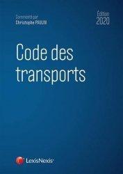 Dernières parutions sur Droit des transports, Code des transports. Edition 2020