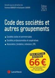 Dernières parutions dans Codes bleus, Code des sociétés et autres groupements. Edition 2021