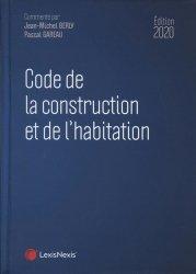 Dernières parutions sur Immobilier et droit de la construction, Code de la construction et de l'habitation 2020