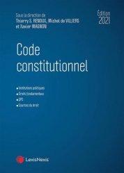 Dernières parutions dans Codes bleus, Code constitutionnel